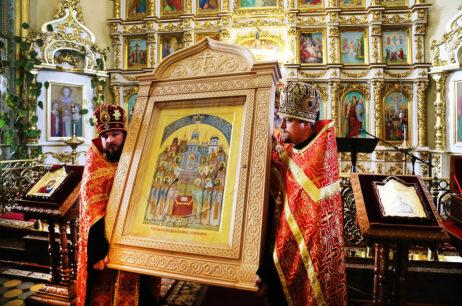 Переддень свята новомучеників і сповідників Ізюмської землі